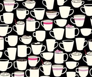 coffee, illustration, and cute image