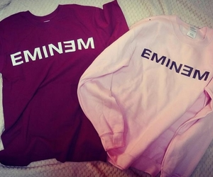 clothes, eminem, and girl image