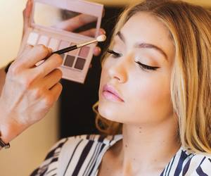 gigi hadid and makeup image