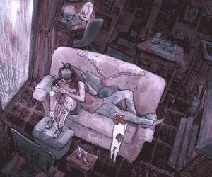 gif, love, and couple image