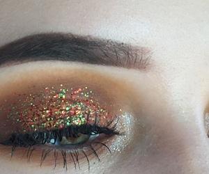 eye, eyebrows, and eyeshadow image