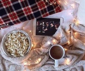harry potter, christmas, and coffee image