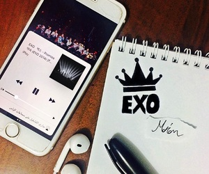 exo, lay, and then image
