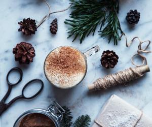 coffee, christmas, and cold image