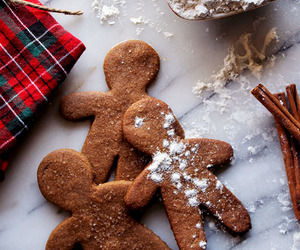 gingerbread cookies and holiday cookies image