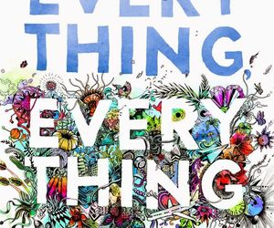 book and everything everything image