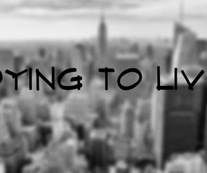 dying to live image