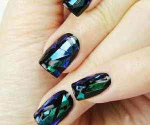 beauty, nails, and nails art image