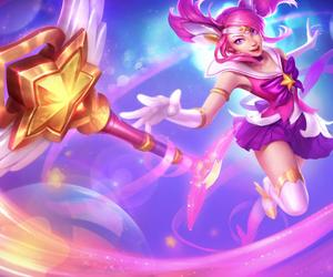 lux, league of legends, and skin image