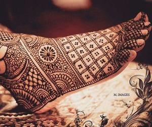 beautiful, bride, and henna image