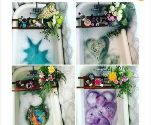 bath, bubble, and lush image