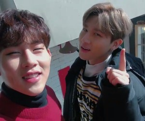 honeyy, changkyun, and leejooheon image