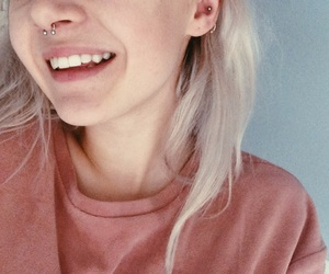 aesthetic, beach, and piercing image