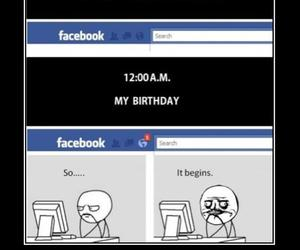 birthday, facebook, and cute image