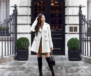 coat, glamour, and fashion image