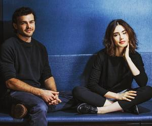 actors, lily collins, and photoshoot image