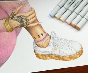 art, creative, and white image