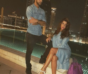 couple, Dubai, and fashion image