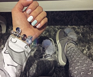 charms, fashion, and nails image