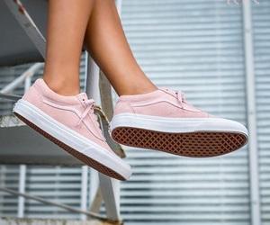 girl, vans, and legs image