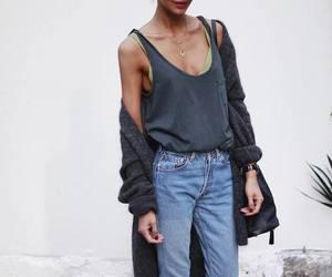 denim, fashion, and pretty image