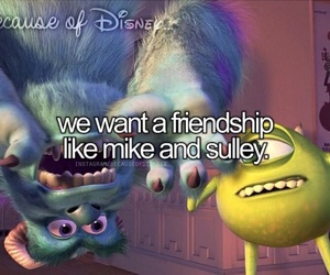disney, monster university, and mike and sulley image
