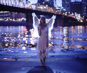 city, pont, and ange image