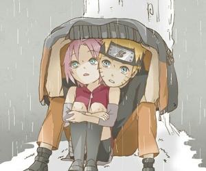 sakura haruno, narusaku, and anime image
