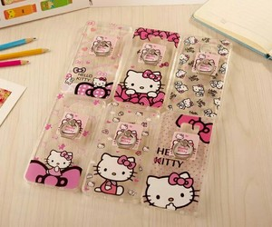 cases, heart, and HelloKitty image