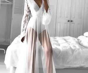 beautiful, lace, and dress image