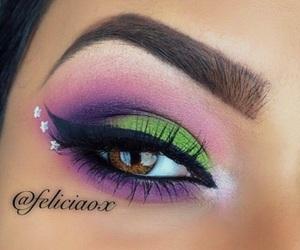 eye, make up, and fantasy image