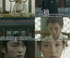kdrama, moon lovers, and iu image
