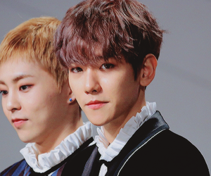 exo, cute, and baekhyun image