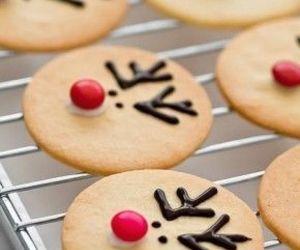 christmas, Cookies, and reindeer image