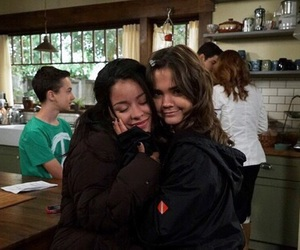 the fosters, maia mitchell, and sisters image