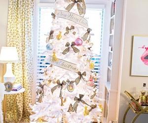 christmas, girly, and tree image