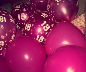 18, balloon, and birthday image