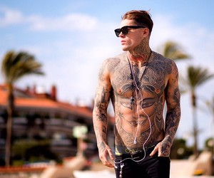 fitness, tattoo, and hombre image