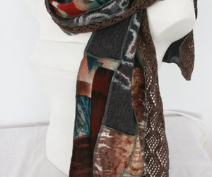 accessories, handmade scarf, and etsy image