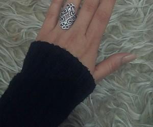 nail, ring, and nailart image