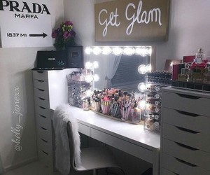 makeup, glam, and luxury image