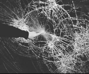 black, shatter, and broken image