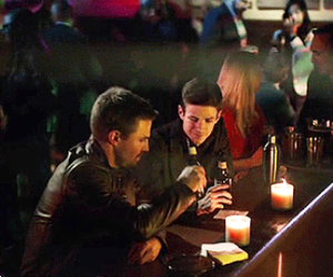 arrow, DC, and the flash image