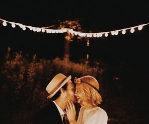 beautiful, passionate, and couple image