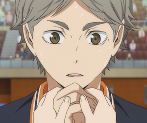 haikyuu, anime, and karasuno image