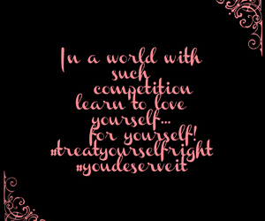 believe, pink, and quote image