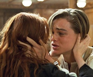 titanic, love, and leonardo dicaprio image
