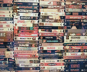 movies, vhs, and titanic image