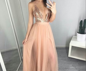 prom dress, 2018 prom dresses, and prom dresses chiffon image
