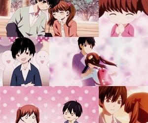 anime, anime girl, and boy image